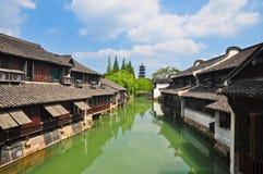 Zhejiang Tongxiang Wuzhen Lizenzfreies Stockbild