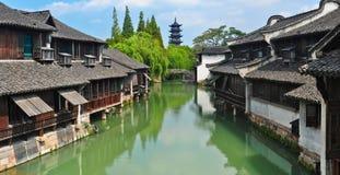 Zhejiang Tongxiang Wuzhen fotos de stock royalty free