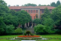 Zhejiang-universityï ¼ ˆhangzhouï ¼ ‰ lizenzfreie stockbilder