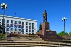Zheleznovodsk, das Gebäude der Urlaubsstadtverwaltung Stockfotos