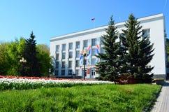 Zheleznovodsk, das Gebäude der Urlaubsstadtverwaltung Stockfoto