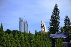 Zheng Chenggong statue Royalty Free Stock Photo