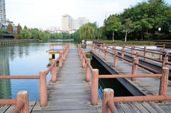 Zheng He treasure shipyard Ruins Park Stock Images