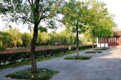 Zheng He treasure shipyard Ruins Park Stock Photography