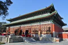 Zhengjue Temple in Yuanmingyuan Park Royalty Free Stock Photography