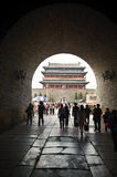Zhengyan gate in Beijing Stock Photography