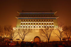 Zhengyang Gate. Is an old building Royalty Free Stock Photography
