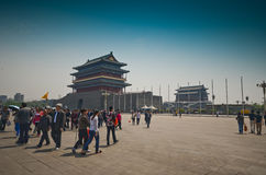The Zhengyang Gate Stock Photos
