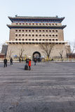 Zhengyangmen Imagenes de archivo
