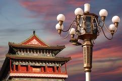 Zhengyangmen brama (Qianmen) porcelana beijing obrazy royalty free