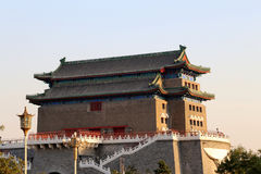 Zhengyangmen brama (Qianmen) porcelana beijing zdjęcie royalty free