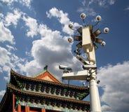 Zhengyangmen brama (Qianmen) porcelana beijing zdjęcia royalty free