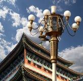 Zhengyangmen brama (Qianmen) porcelana beijing fotografia royalty free