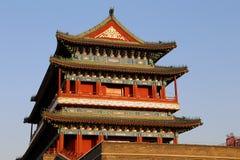 Zhengyangmen brama (Qianmen) porcelana beijing obrazy stock