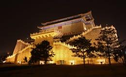 Zhengyangmen Gate in Beijing, China royalty free stock image
