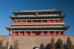 The Zhengyangmen Gate. Beinjing. China Royalty Free Stock Photos