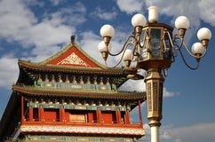Zhengyangmen Gate (Qianmen). Beijing, China Stock Photography