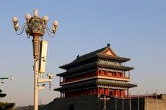 Zhengyangmen Gate (Qianmen). Beijing, China Stock Images