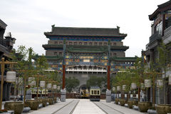 Zhengyangmen gatehouse Beijing Stock Photography