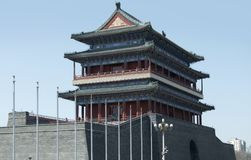 Zhengyangmen Gatehouse Royalty Free Stock Image