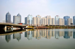 Zhengzhou city scenery Stock Photos