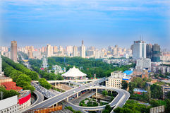 Zhengzhou city scenery Stock Photography