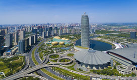 Zhengzhou henan Κίνα στοκ εικόνες με δικαίωμα ελεύθερης χρήσης