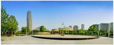 Zhengzhou International Convention and Exhibition Centre Royalty Free Stock Images