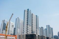Zhengzhou a juste construit un nouveau haut b Photos libres de droits