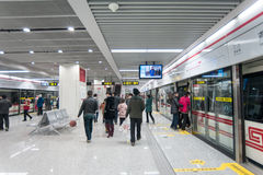 Zhengzhou Mass Transit System officially opened Royalty Free Stock Photography