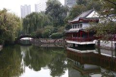 Zhengzhou people&#x27 ; parc de s photo libre de droits