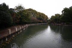 Zhengzhou people& x27; s Park stock afbeelding