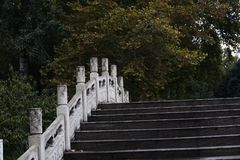 Zhengzhou people' s Park royalty-vrije stock foto's