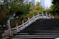 Zhengzhou people&-x27; s park obraz stock