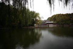 Zhengzhou people& x27;s Park. Is located on the west side of the North 27 road of the downtown area. It became a park in 1951 and officially opened in August 1 stock photography
