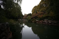 Zhengzhou people& x27;s Park. Is located on the west side of the North 27 road of the downtown area. It became a park in 1951 and officially opened in August 1 stock images