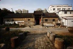 Zhengzhou Tianxiang Museum. In 2009, in Dongshima Village of Zhengzhou High-tech Zone, Renjia ancient residence was listed as the cultural relic protection unit royalty free stock photos