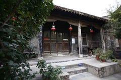 Zhengzhou Tianxiang Museum. In 2009, in Dongshima Village of Zhengzhou High-tech Zone, Renjia ancient residence was listed as the cultural relic protection unit stock images