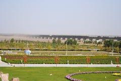 Zhengzhou Yellow River det sceniska området Arkivfoto