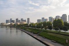 Zhengzhou Zhengdong New District scenery Stock Photos