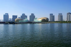 Zhengzhoucityscape royalty-vrije stock fotografie