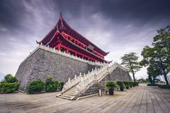 Zhenhai Tower of Fuzhou Stock Photos