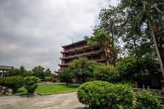 Zhenhai tower Stock Photography