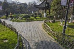 Zhenjiang ancient ferry xinjin Stock Photo