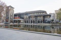 Zhenjiang-Frühlingsbodenrestaurant Lizenzfreies Stockbild