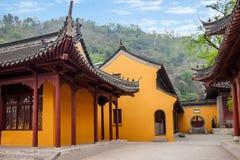 Zhenjiang Jiao Mountain Dinghui Temple Arkivfoto