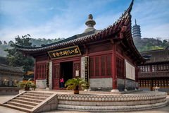 Zhenjiang Jiao Mountain Dinghui Temple Immagini Stock Libere da Diritti
