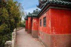 Zhenjiang Jiao Mountain Dinghui Temple milione pagode Immagine Stock