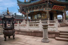 Zhenjiang Jiao Mountain Dinghui Temple milione pagode Fotografia Stock