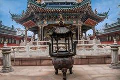 Zhenjiang Jiao Mountain Dinghui Temple milione pagode Fotografia Stock Libera da Diritti